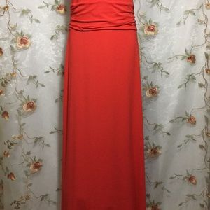 Vince Camuto Dresses - ✨Vince Camuto Red & Black Maxi Dress